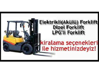 Eskişehir Saray Forklift