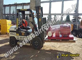 3 Ton 4,8 Metre Forklift Kiralama